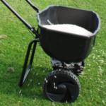 lawn fertilising
